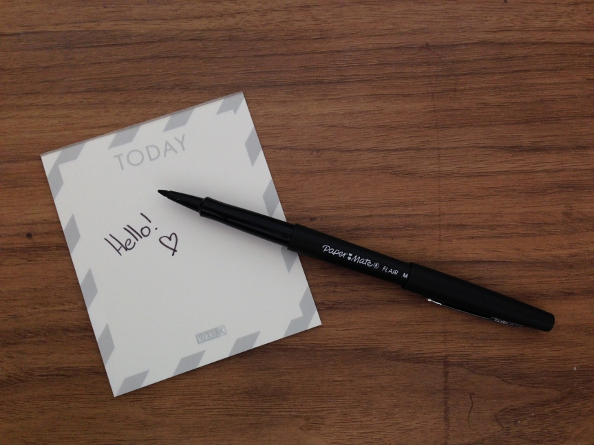 Papermate Flair - Fab Five - Fabruary Favourites - A Whole Latte Love Blog