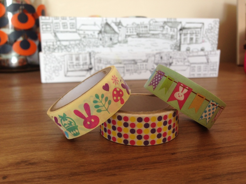 Tiger Easter Paper Tape - Fab Five - February Favourites - A Whole Latte Love Blog